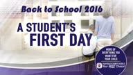A Student's First Day