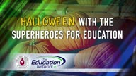 Halloween with the Superheroes for Education