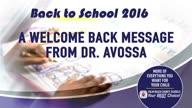 Dr. Avossa Welcomes Back Parents