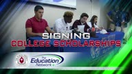 Signing College Scholarships