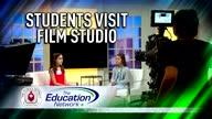 Students Visit Film Studio