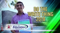 Do The Write Thing 2018