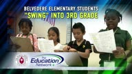 Belvedere Elementary Students 'Swing' into 3rd Grade