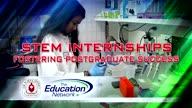 STEM Internships Fostering Postgraduate Success