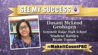 Dasani McLeod Geohagen: Student Battles Brain Tumor