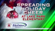 Spreading Holiday Cheer at Lake Park Elementary