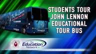 Students Tour John Lennon Educational Tour Bus