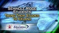 Seminole Ridge Students Taking Their Studies to Iceland