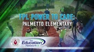 Power to Care: Palmetto Elementary.