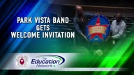 Park Vista Band Gets Welcome Invitation