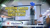 Aviation Career Exploration Takes Flight