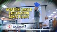 Aviation Career Exploration Takes Flight