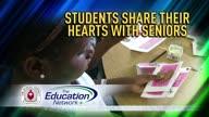 Students Make Valentine's Day Cards for Seniors