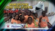 Dolphins Deliver Shoes!