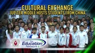 Cultural Exchange: Jupiter Middle hosts students from China