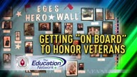 """Getting """"On Board"""" to Honor Veterans"""