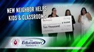 New Neighbor Helps Kids & Classrooms