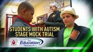 Students with Autism Stage Mock Trial