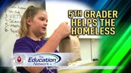 Coral Reef Student Helps Homeless