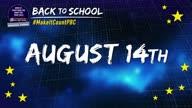 Back to School 2017-18  #MakeItCountPBC