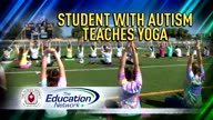 Student with Autism Teaches Yoga